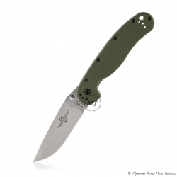 Складной нож Ontario RAT-1 Forest Green 8848FG