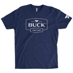 Футболка Buck Mens Navy Tee 13088